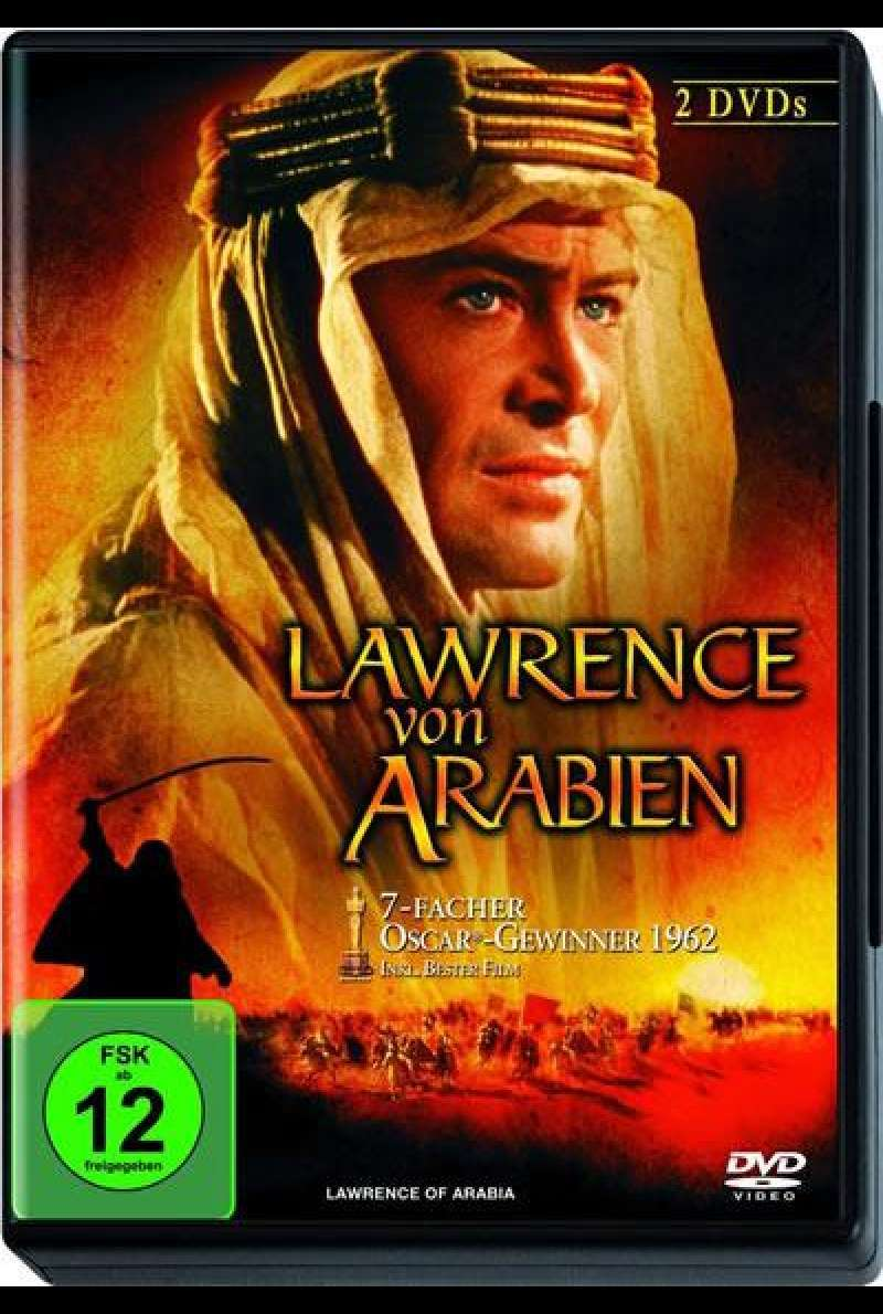 Lawrence von Arabien - DVD-Cover