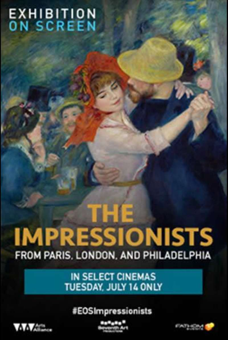 Exhibition on Screen: The Impressionists - Filmplakat (INT)