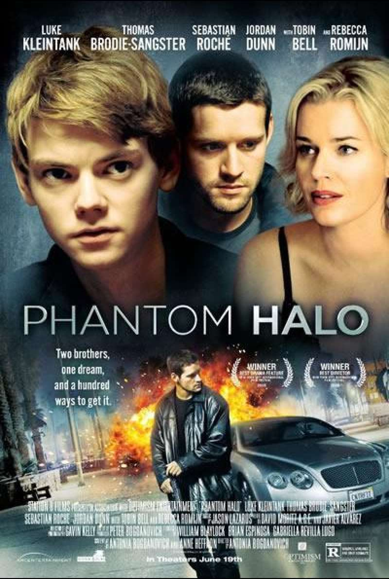 Phantom Halo - Filmplakat (US)