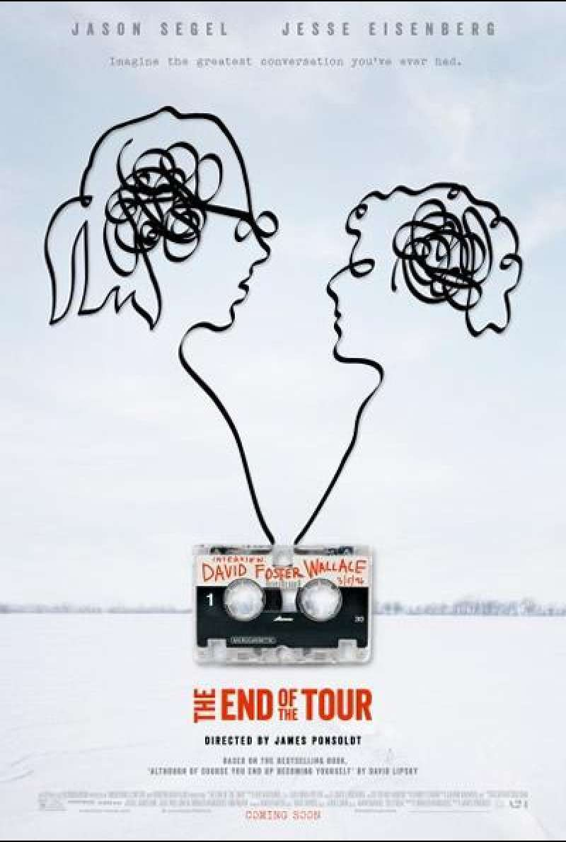 The End of the Tour - Filmplakat (US)