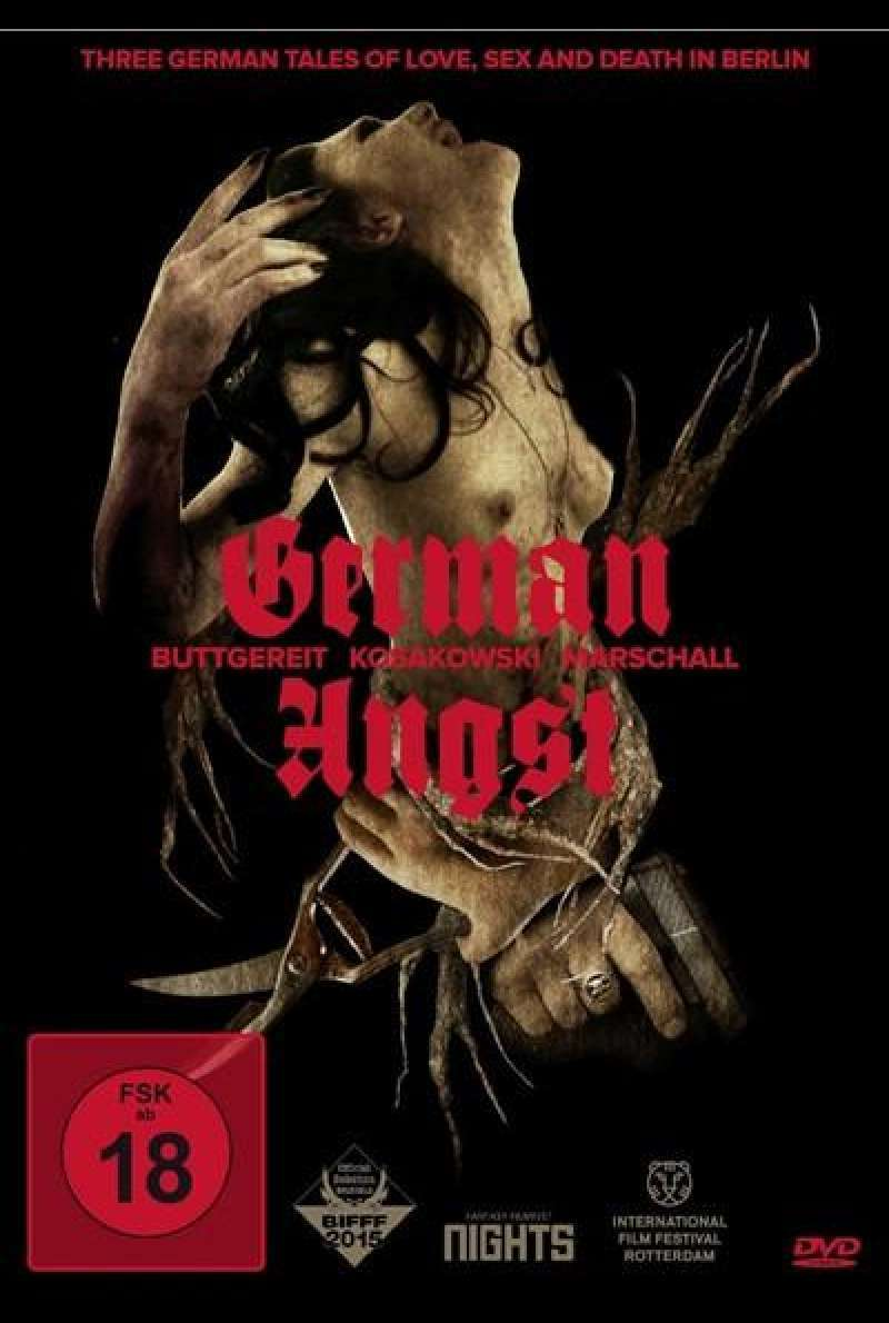 German Angst - DVD-Cover
