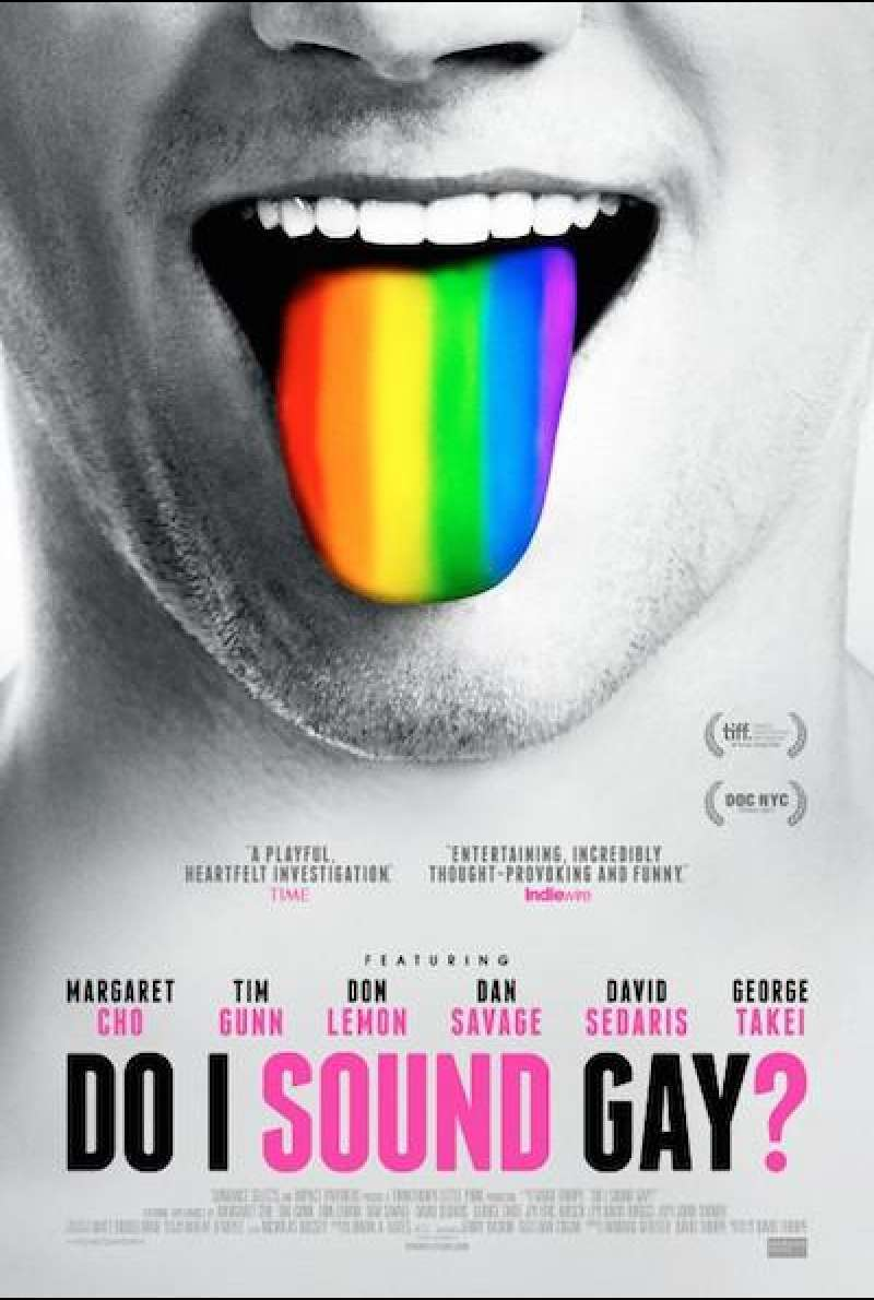 Do I Sound Gay? - Filmplakat (US)