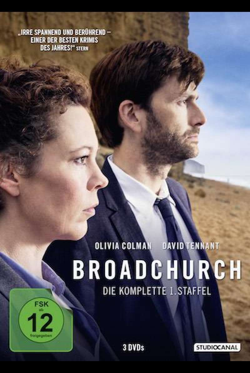 Broadchurch von Euros Lyn und James Strong - DVD-Cover