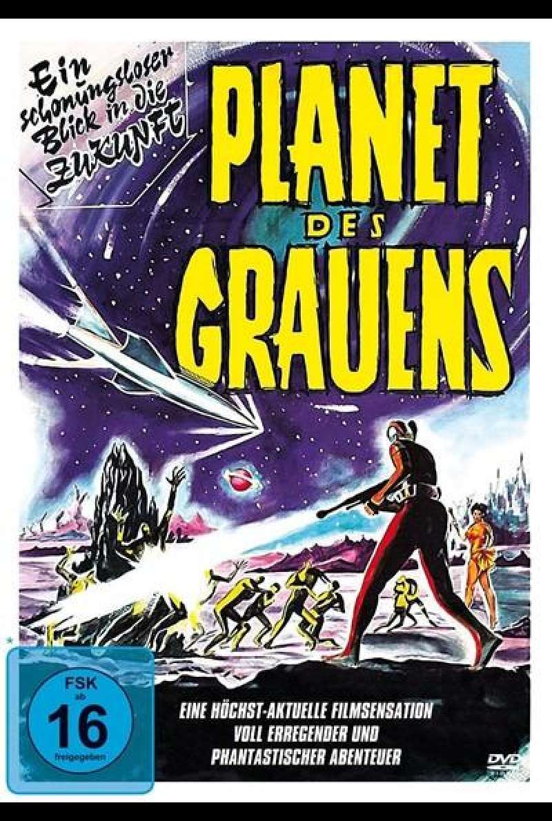 Planet des Grauens - DVD-Cover