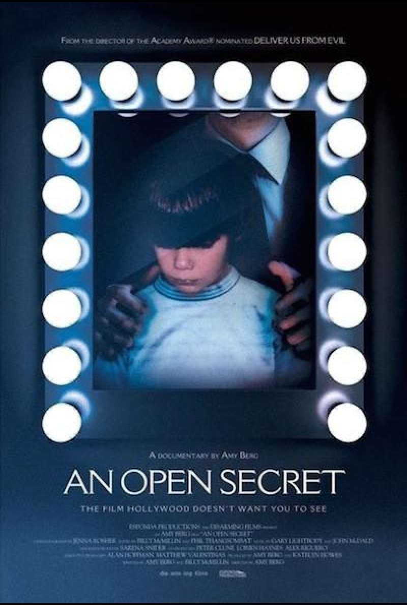 An Open Secret - Filmplakat (US)