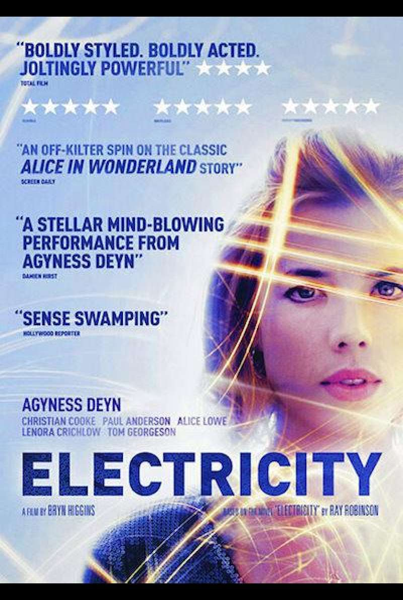 Electricity - Filmplakat (UK)