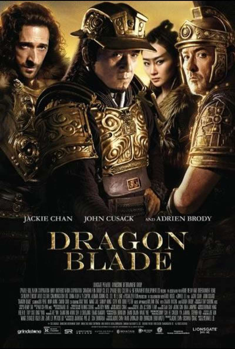 Dragon Blade - Filmplakat (US)