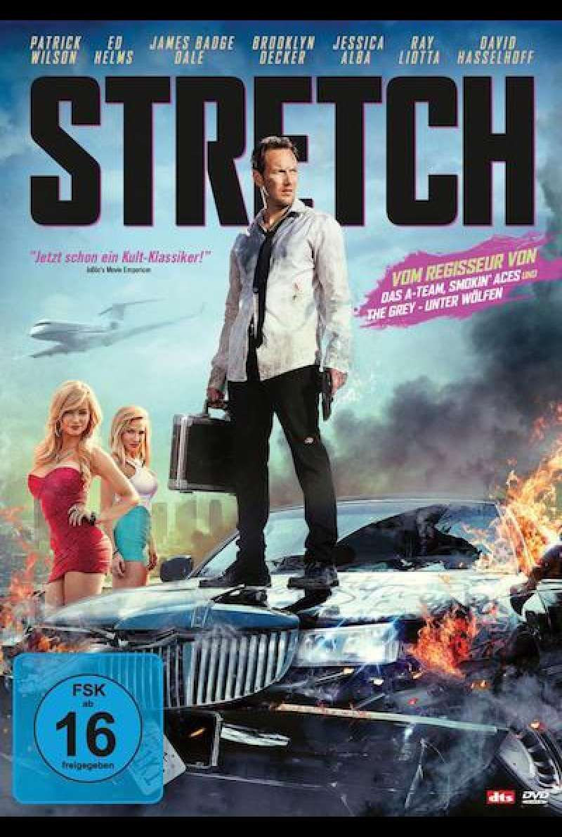 Stretch von Joe Carnahan - DVD-Cover