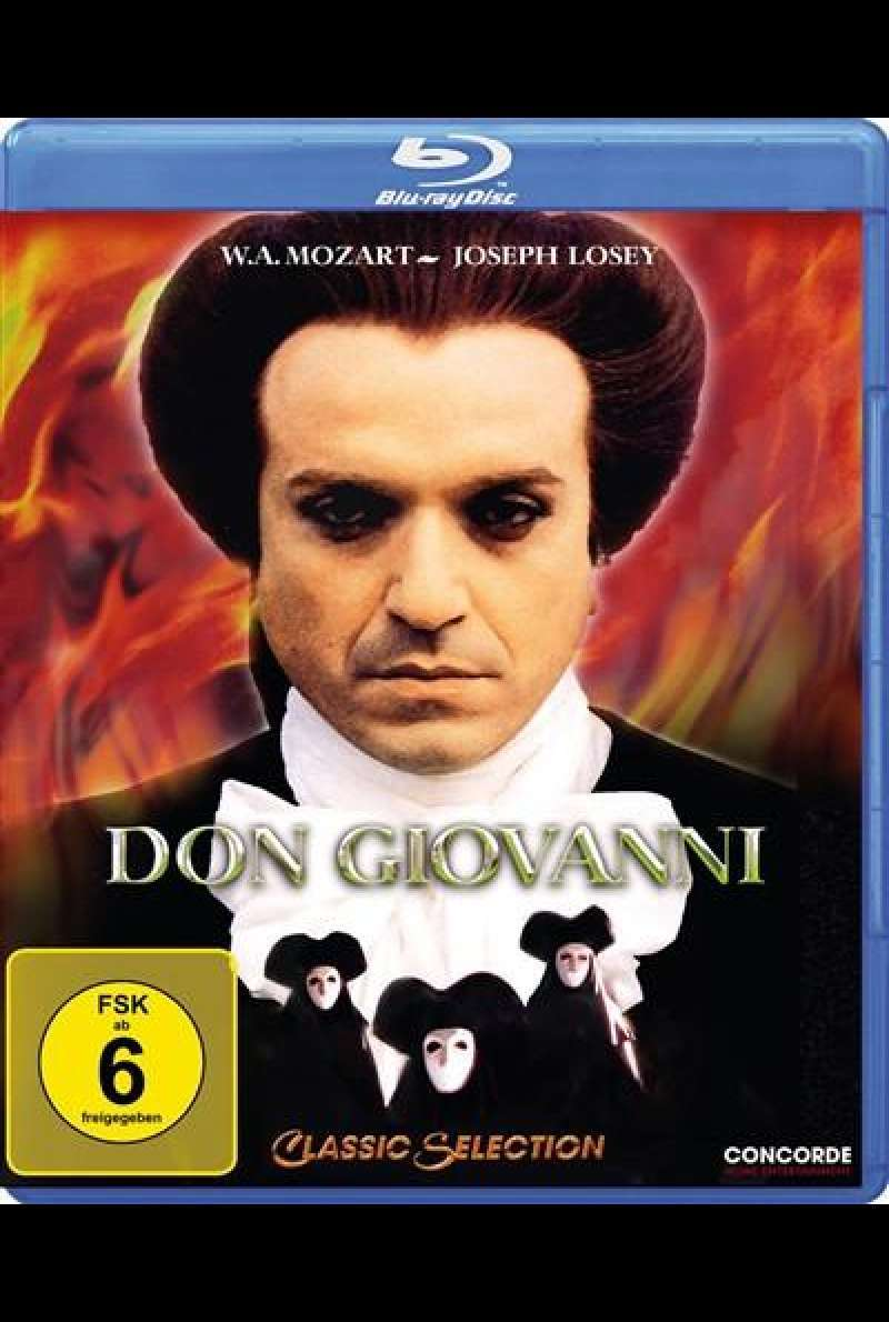 Don Giovanni - Blu-ray-Cover