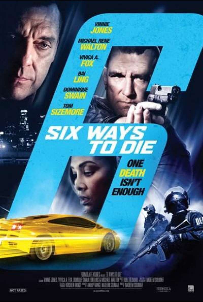 6 Ways to Die - Filmplakat (US)