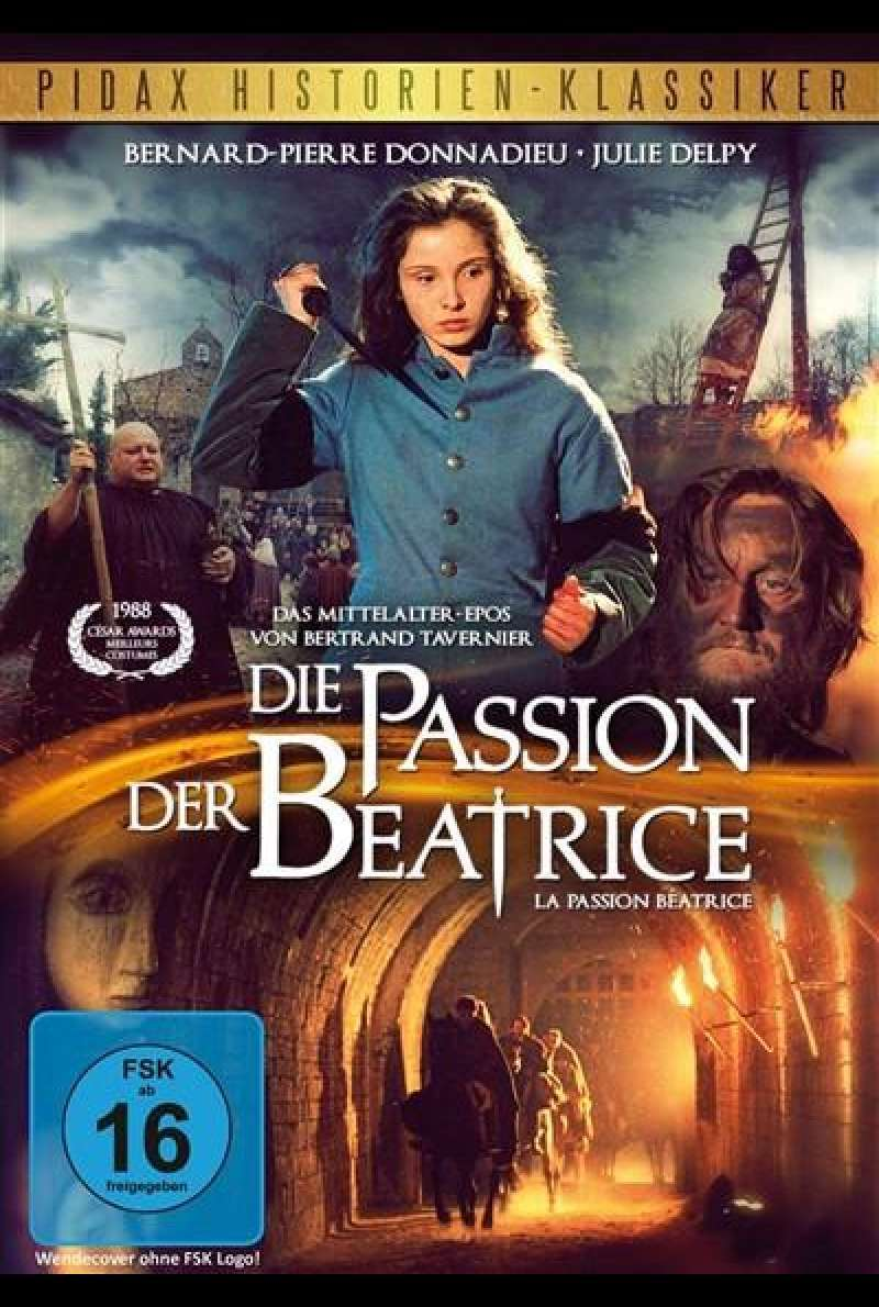 Die Passion der Beatrice - DVD-Cover