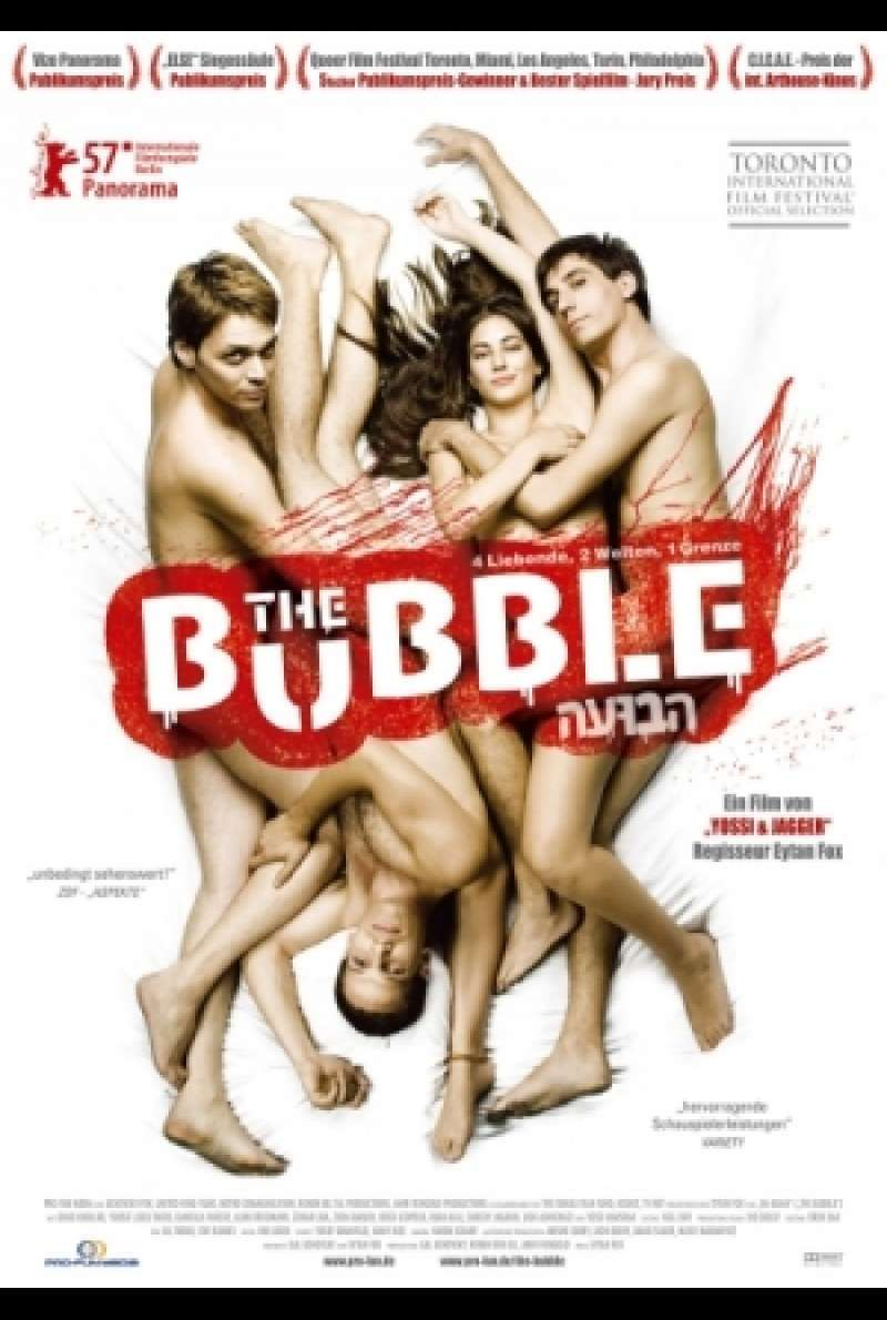 Filmplakat zu The Bubble / Ha-Buah von Eytan Fox