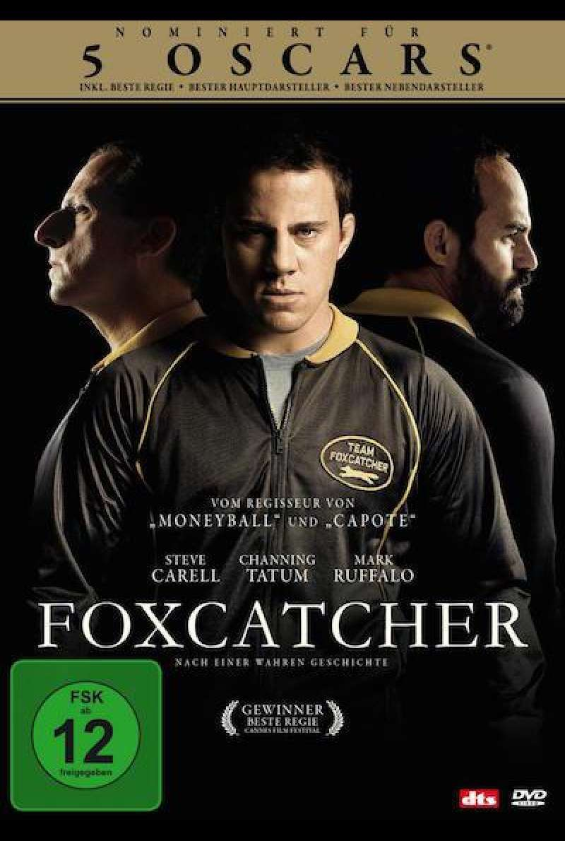 Foxcatcher - DVD-Cover