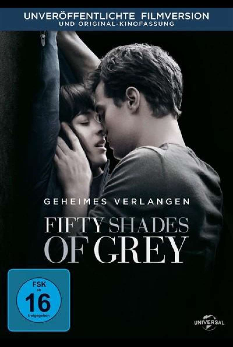 Fifty Shades of Grey - DVD-Cover
