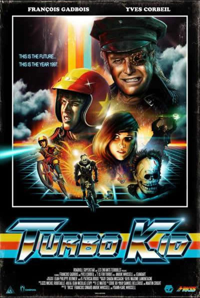 Turbo Kid - Filmplakat (US)