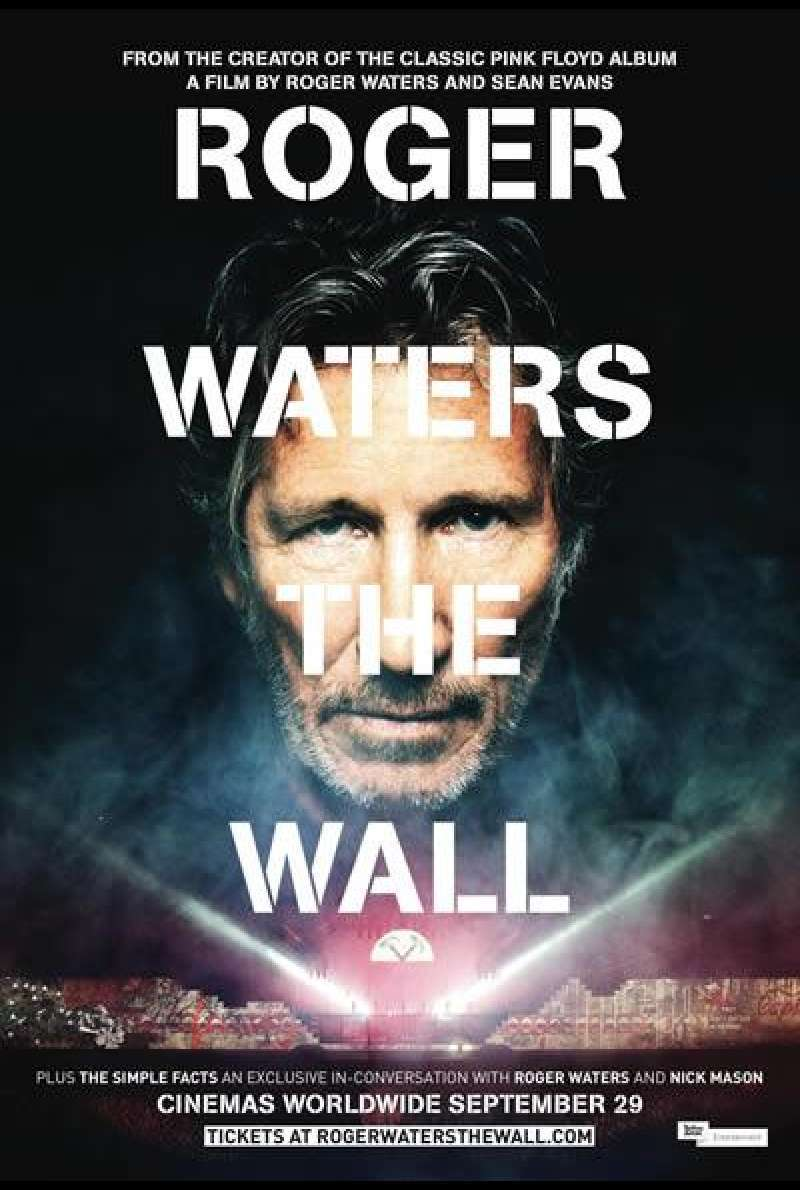Roger Waters The Wall - Filmplakat (GB)