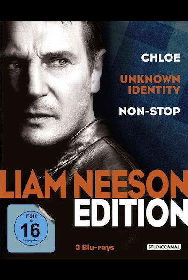 Liam Neeson Edition (Blu-ray) – Cover