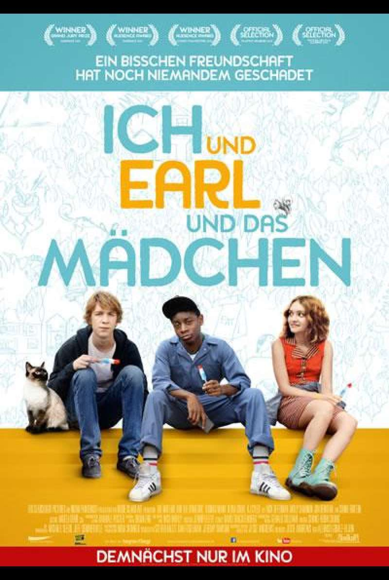 Me and Earl and the Dying Girl - Filmplakat