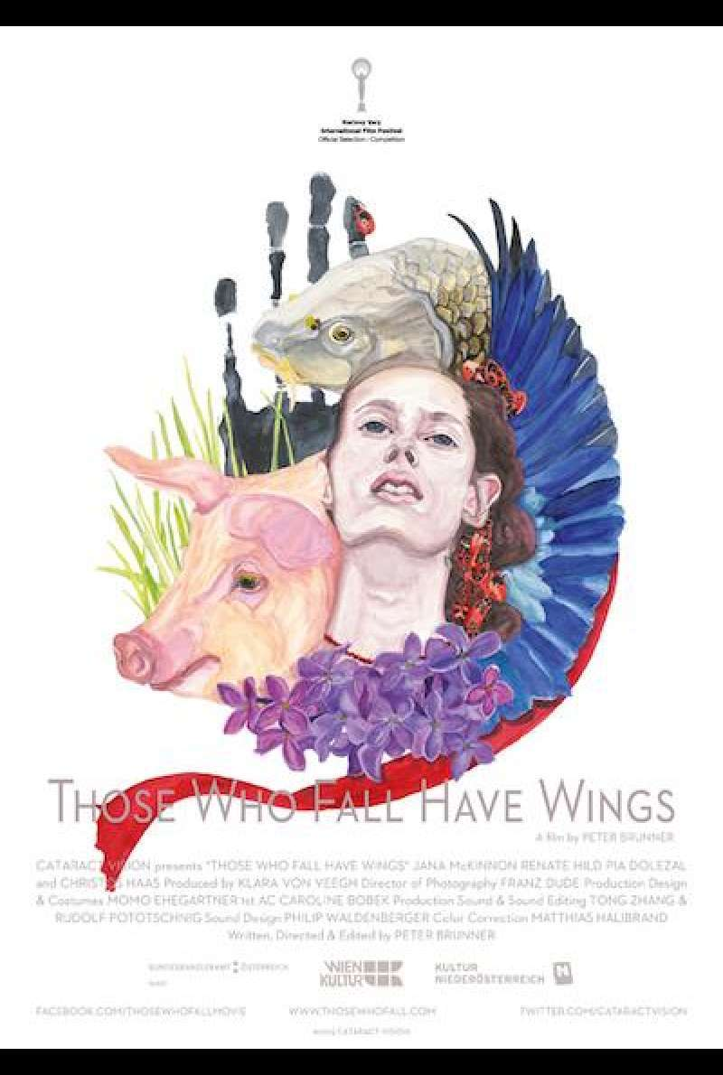 Those Who Fall Have Wings - Filmplakat (INT)