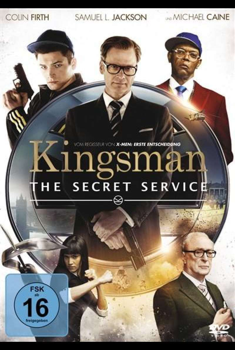 Kingsman - The Secret Service - DVD-Cover