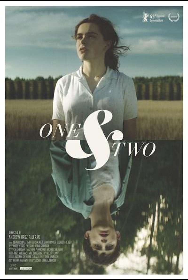 One & Two von Andrew Droz Palermo - Filmplakat (US)
