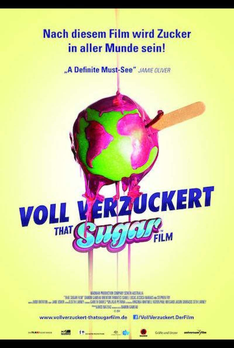 Voll verzuckert – That Sugar Film von Damon Gameau - Filmplakat (deutsch)