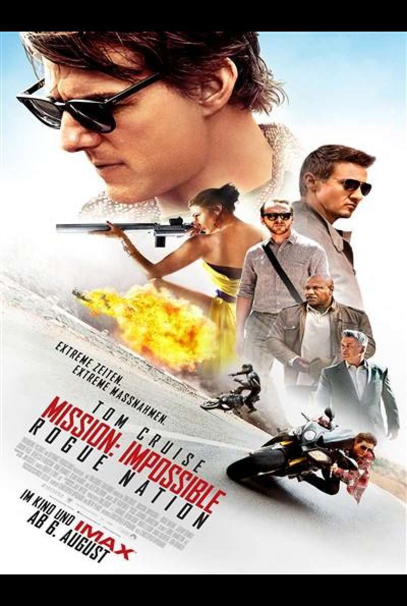 Mission: Impossible - Rogue Nation - Filmplakat