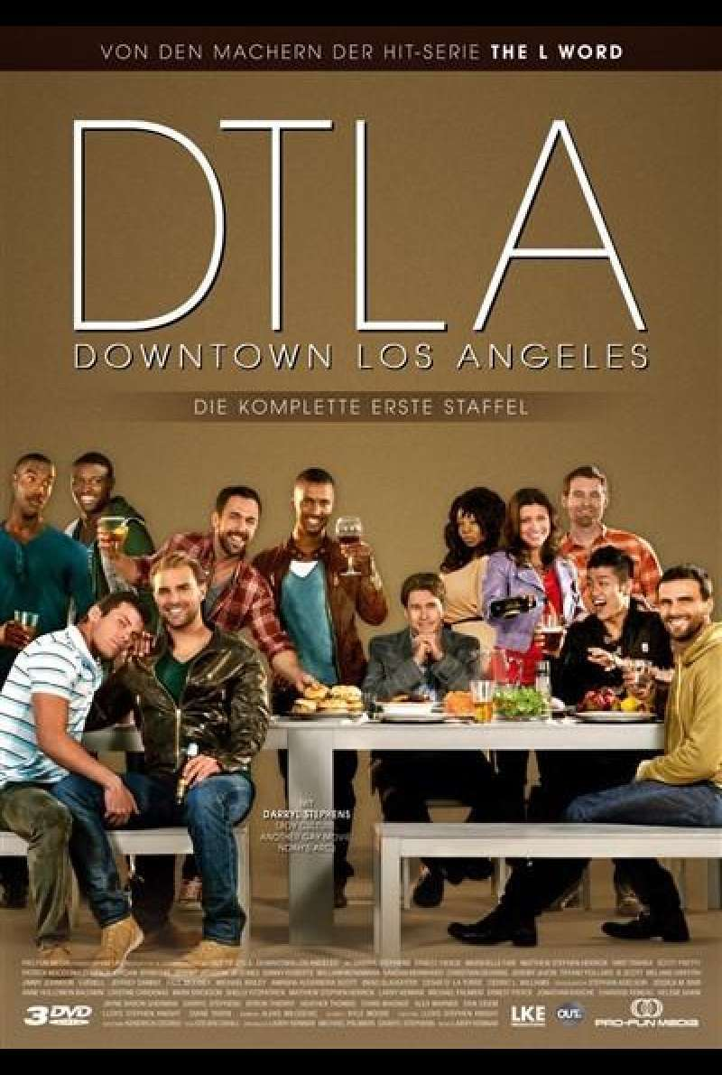 DTLA - Staffel 1 - DVD-Cover