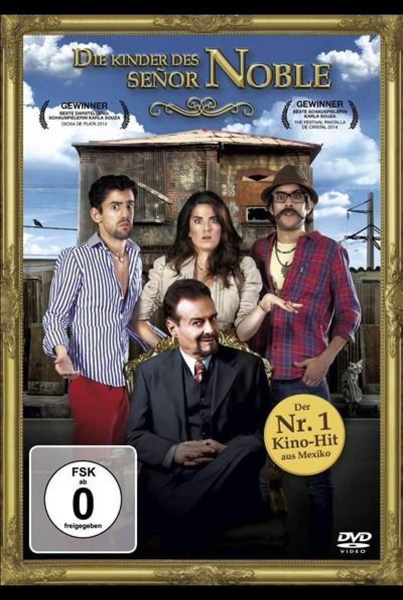 Die Kinder des Señor Noble - DVD-Cover