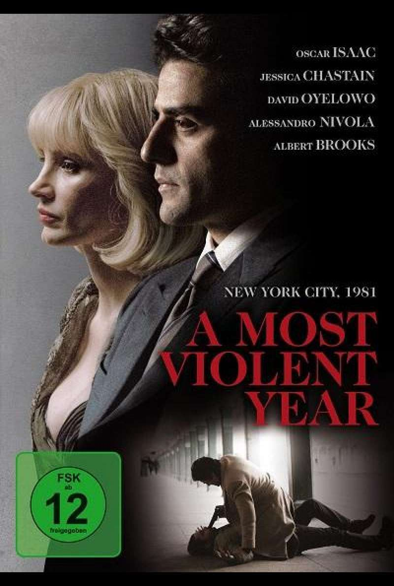 A Most Violent Year - DVD-Cover