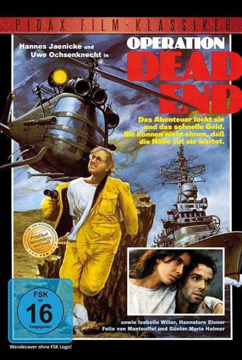 Operation Dead End - DVD-Cover