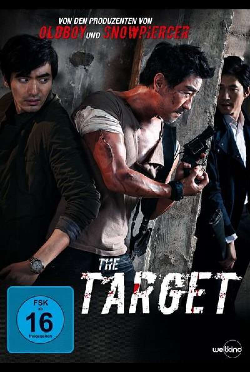 The Target - DVD-Cover