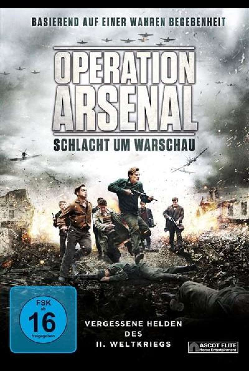 Operation Arsenal - Schlacht um Warschau - DVD-Cover