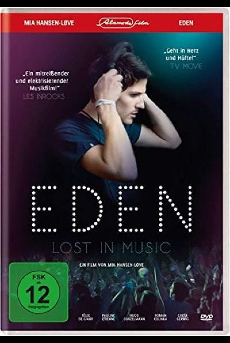 Eden - Lost in Music - DVD-Cover