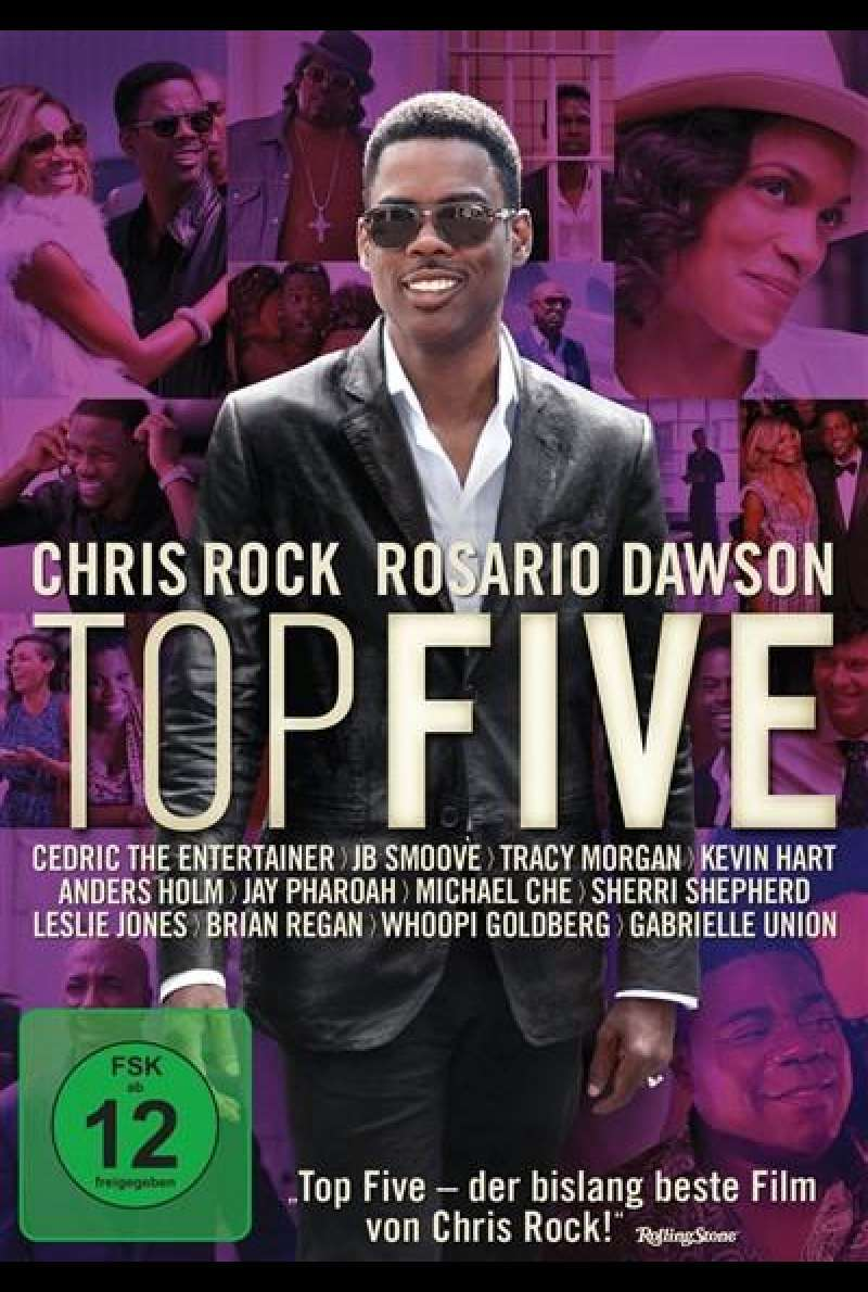 Top Five - DVD-Cover