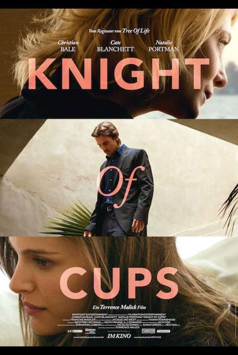 Knight of Cups - Filmplakat