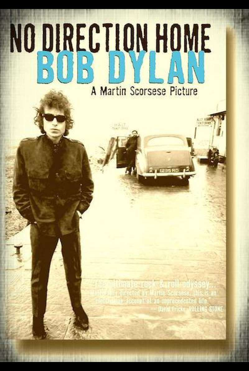 No Direction Home: Bob Dylan - Filmplakat (US)