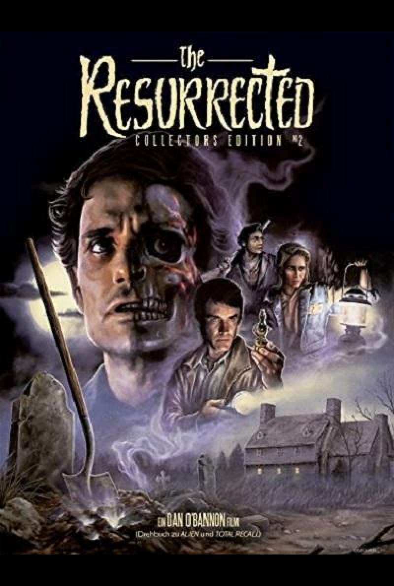 The Resurrected - Blu-ray-Cover