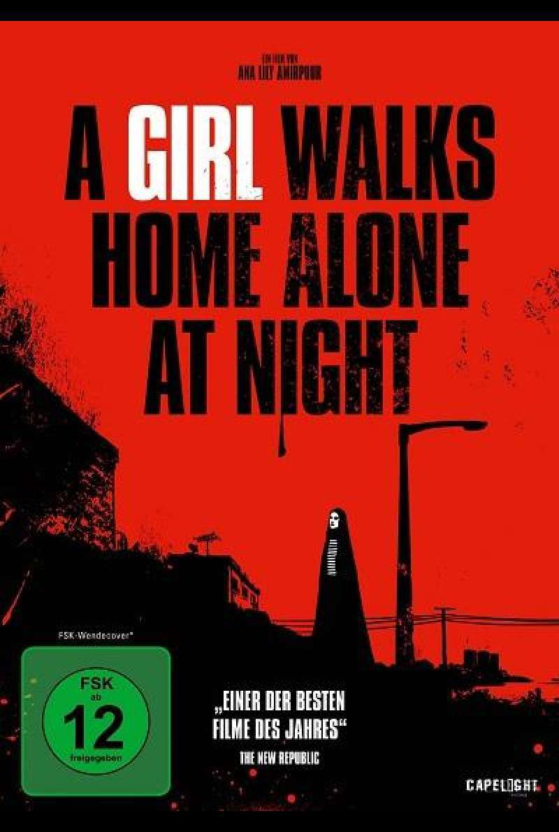 A Girl Walks Home Alone at Night - DVD-Cover