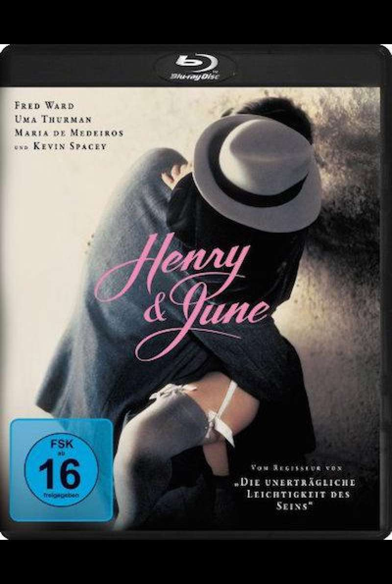Henry & June - Blu-ray Cover