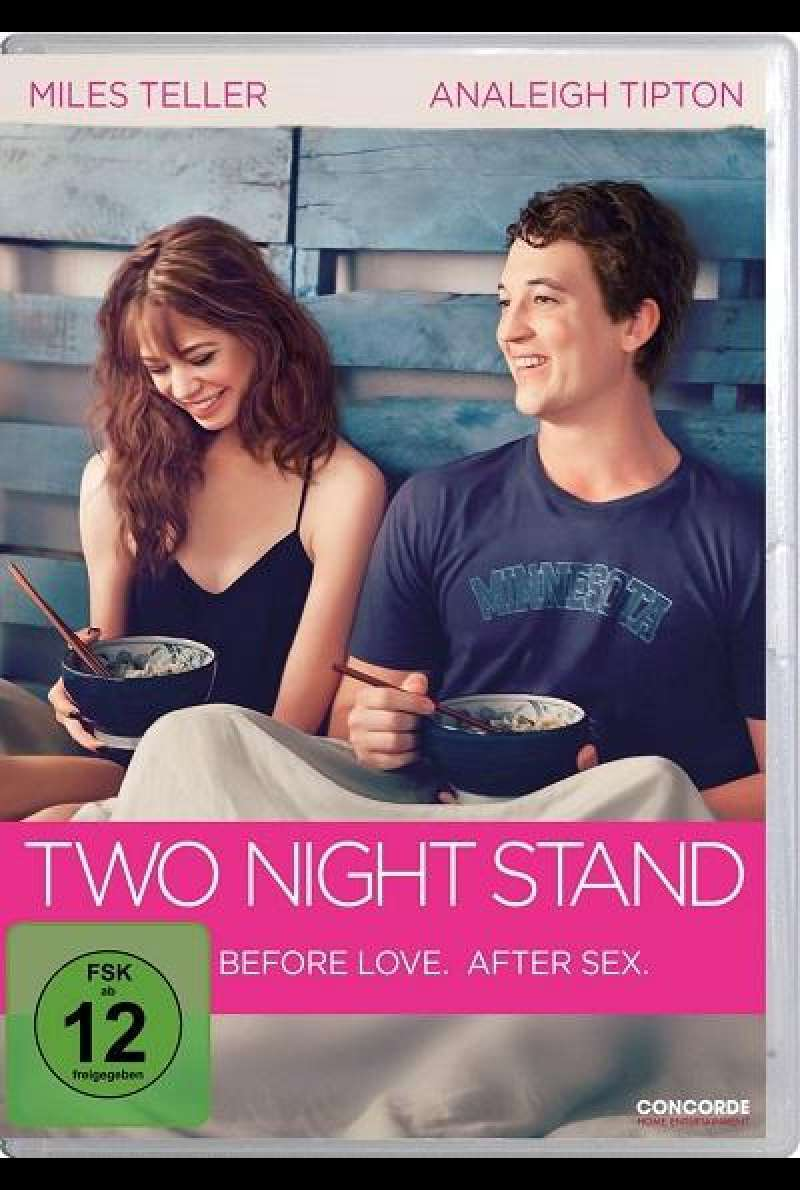 Two Night Stand - DVD-Cover