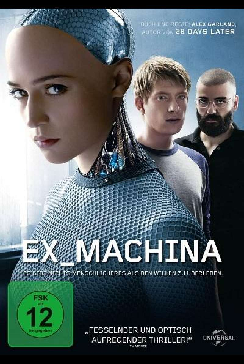 Ex Machina - DVD-Cover