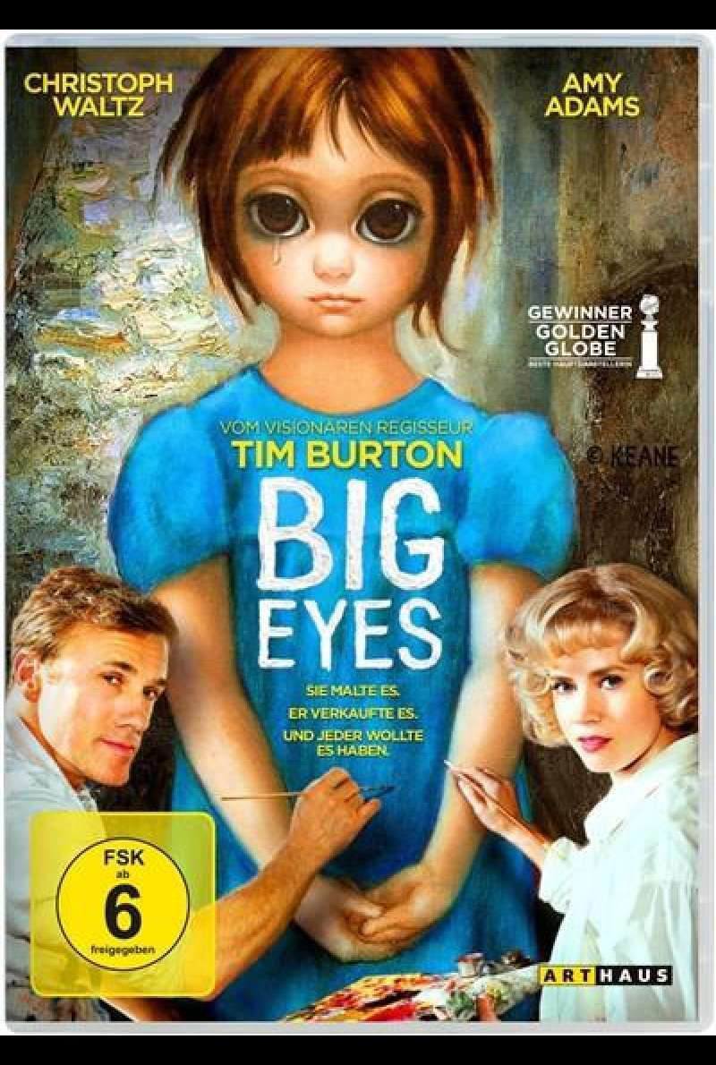 Big Eyes - DVD-Cover