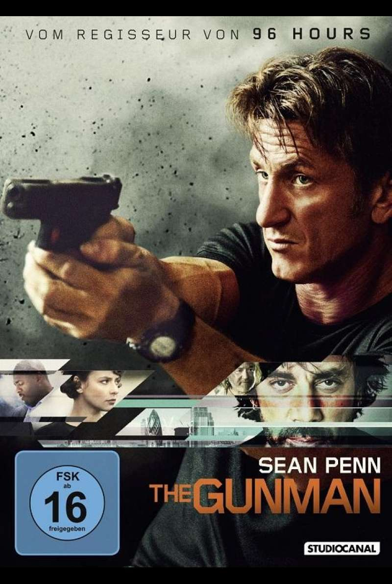 The Gunman - DVD-Cover
