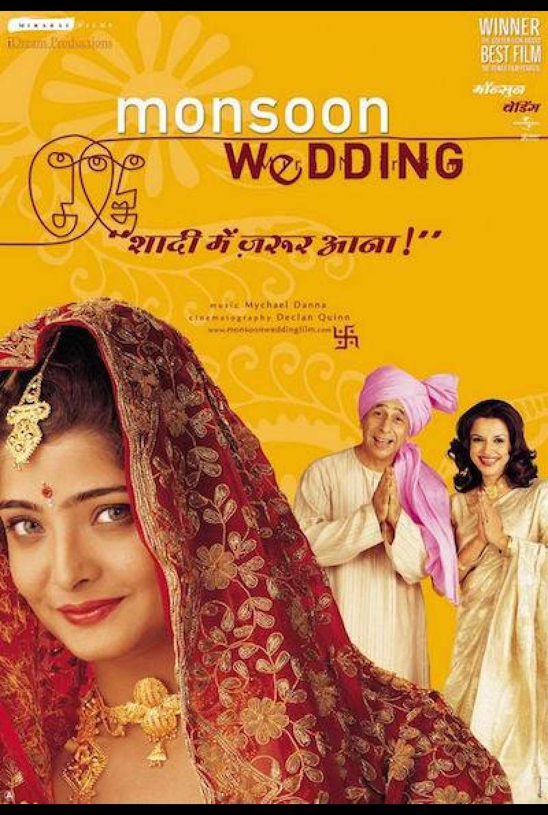 Monsoon Wedding - Filmplakat (INT)