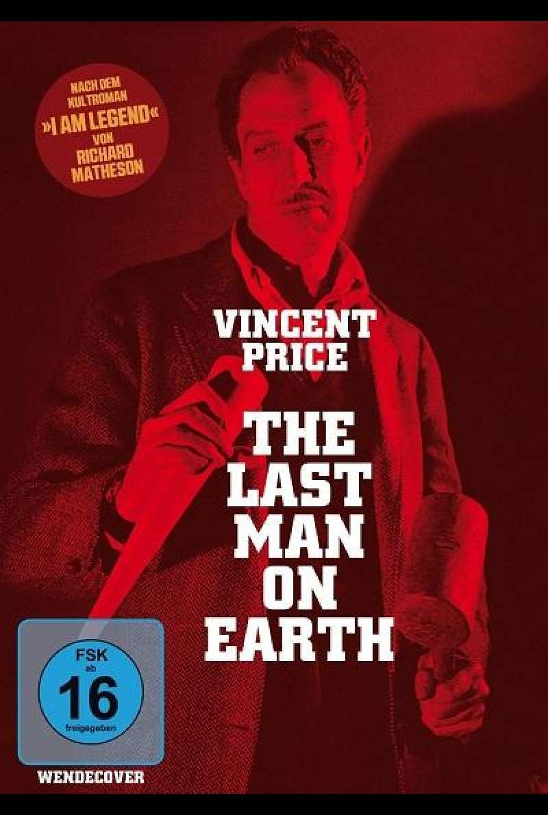 The Last Man on Earth - DVD-Cover
