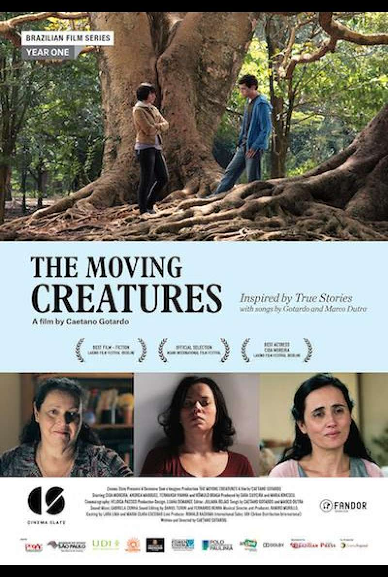 The Moving Creatures - Filmplakat (INT)