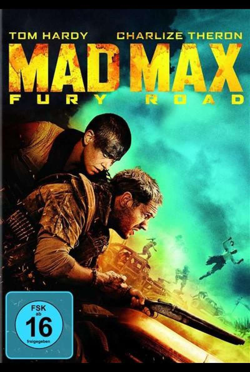 Mad Max: Fury Road - DVD-Cover