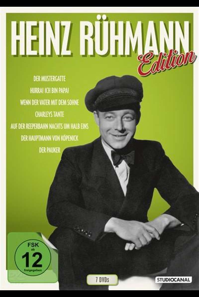 Heinz Rühmann Edition - DVD-Cover