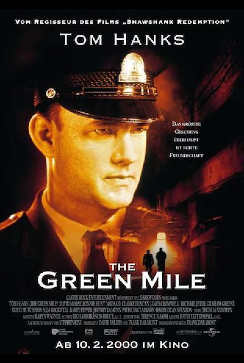 The Green Mile - Filmplakat